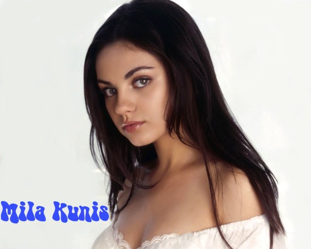 hot photos of mila kunis